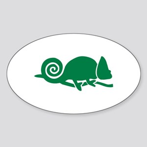 Chameleon Sticker (Oval)